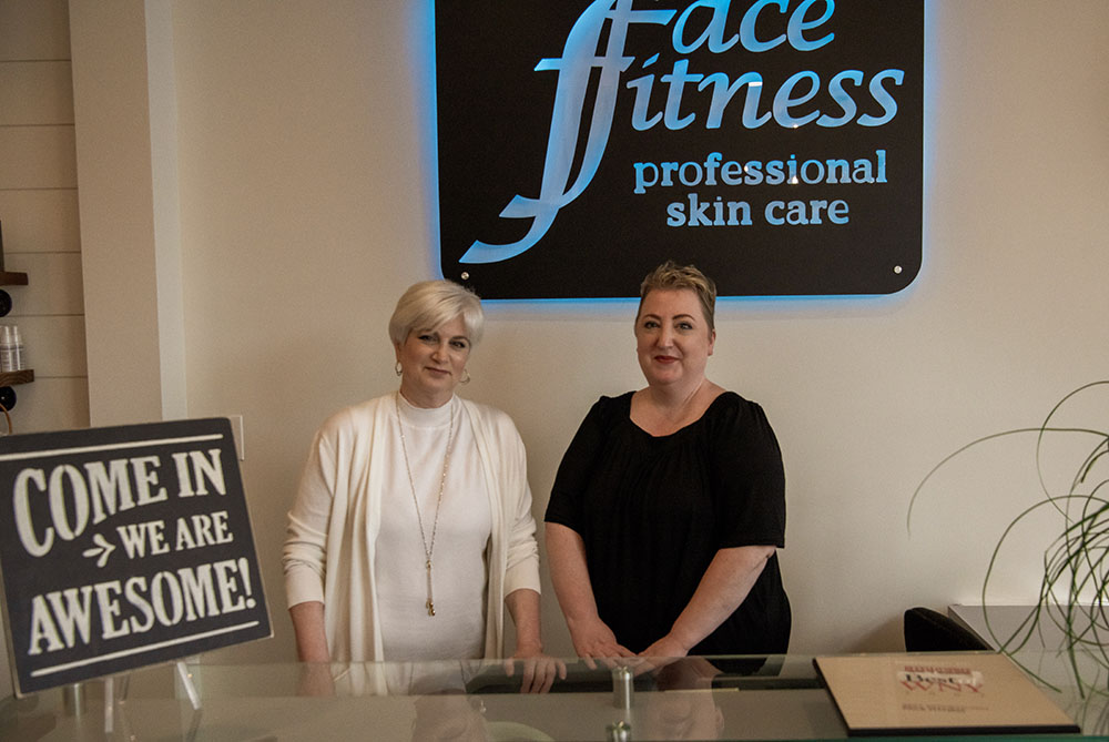 Michelle and Kathy - Face Fitness Professional Skin Care